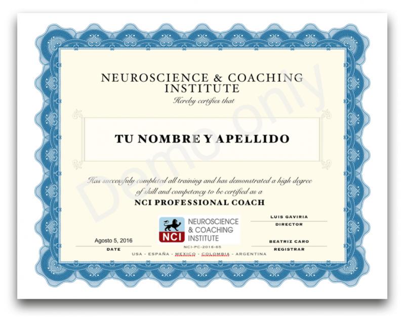 certificacion neurocoaching curso couching